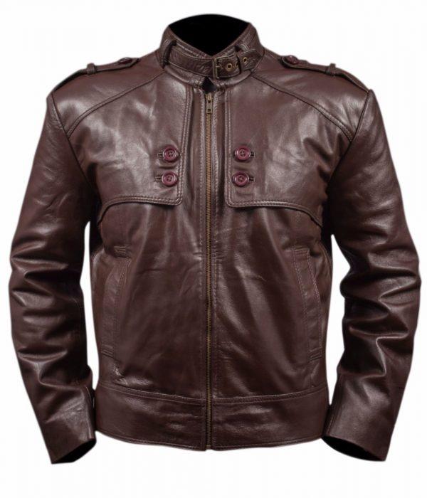 Mens-Slim-Fit-Leather-Jacket-Brown-Flaps-Epaulets-Removable-Collar-Belt1__73109.1486741945