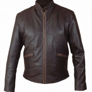 sam flynn leather jacket